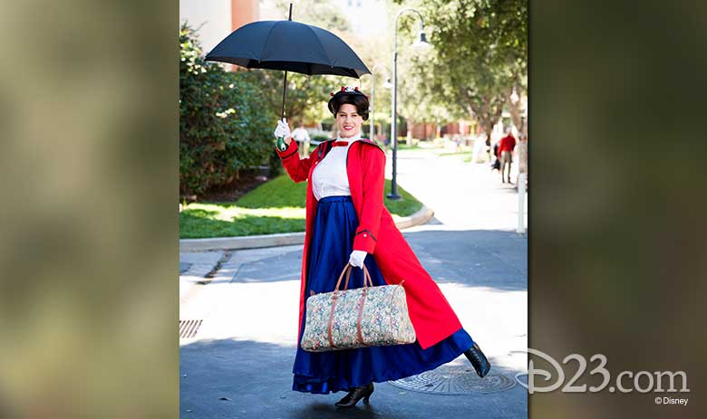 Mary Poppins on the Lot