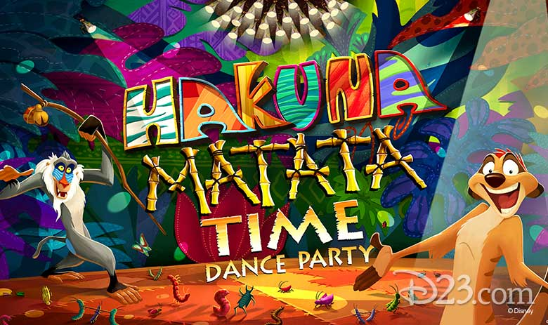 Hakuna Matata Time Dance Party