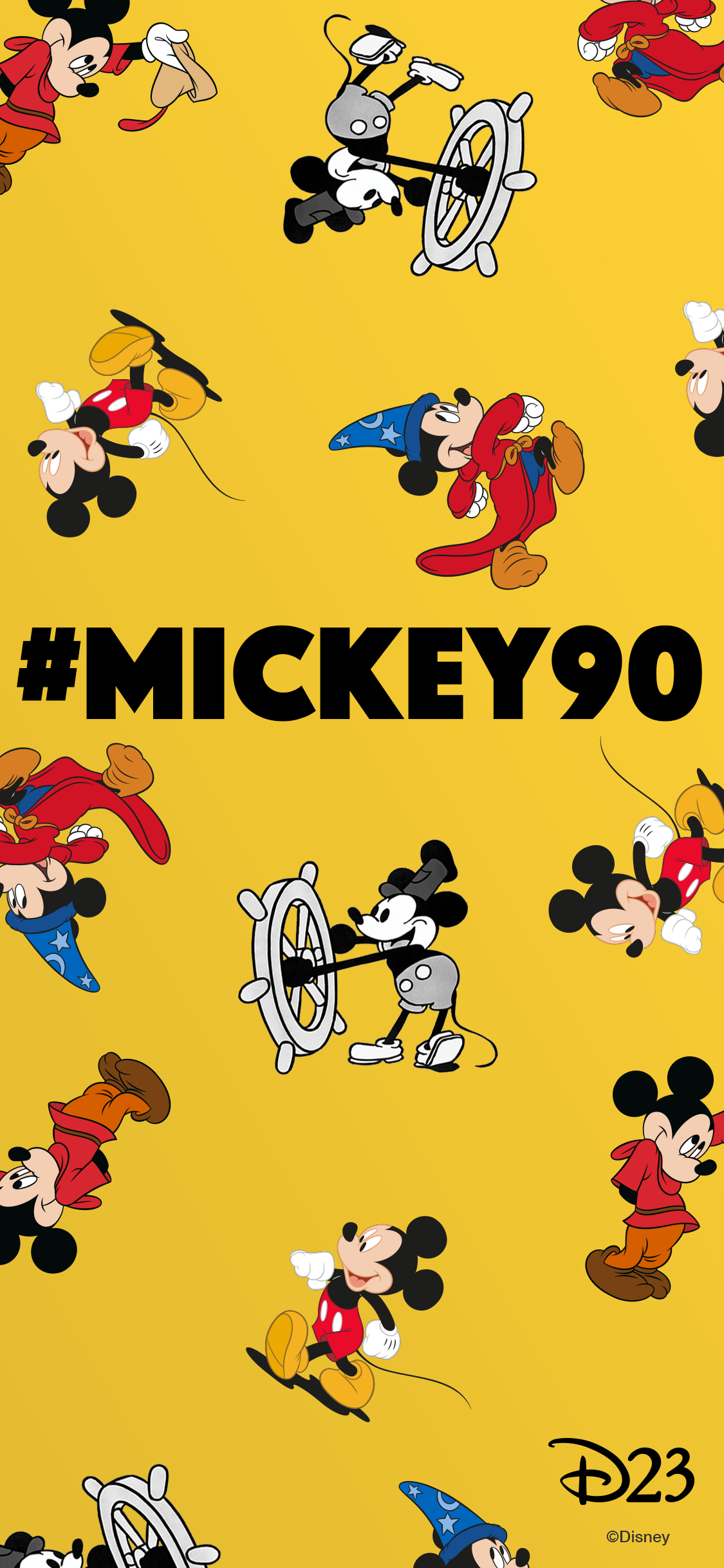 6 Mickey Mouse Phone Wallpapers To Make Your Phone A Mouse Terpiece D23