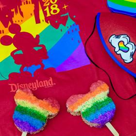 Rainbow merch and treats