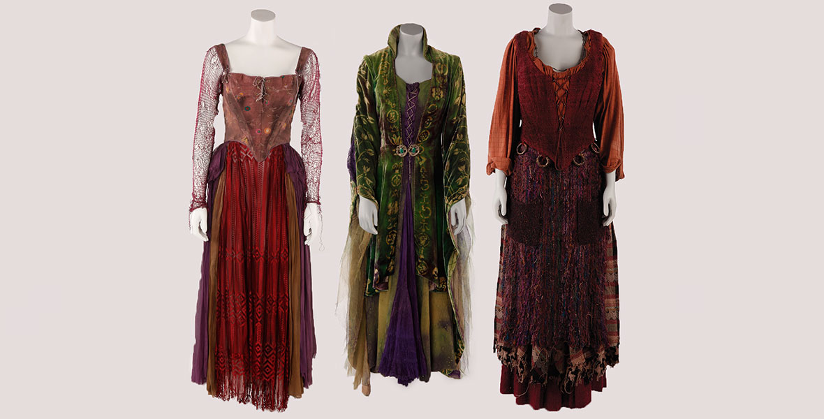 Winifred Disney Hocus Pocus and Mary Sarah Witch Sanderson Witches Halloween Costumes Sanderson Sisters 25th Anniversary Hocus Pocus