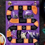 Jack and Sally's Ghoulish Adventure Game Instructions