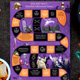 Spooktacular Fanniversary crafts nightmare board game