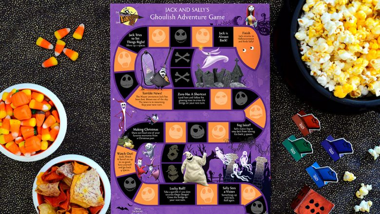 Spooktacular Fanniversary crafts nightmare board game