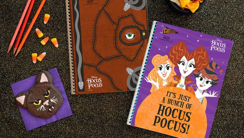 Spooktacular Fanniversary crafts notebook covers