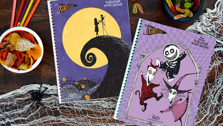 Spooktacular Fanniversary nightmare notebook covers