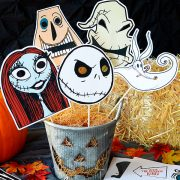 Tim Burton's The Nightmare Before Christmas Photo Props