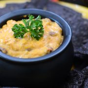 Black Cauldron Chili Cheese Dip