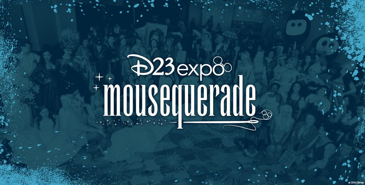Mousequerade logo iris banner