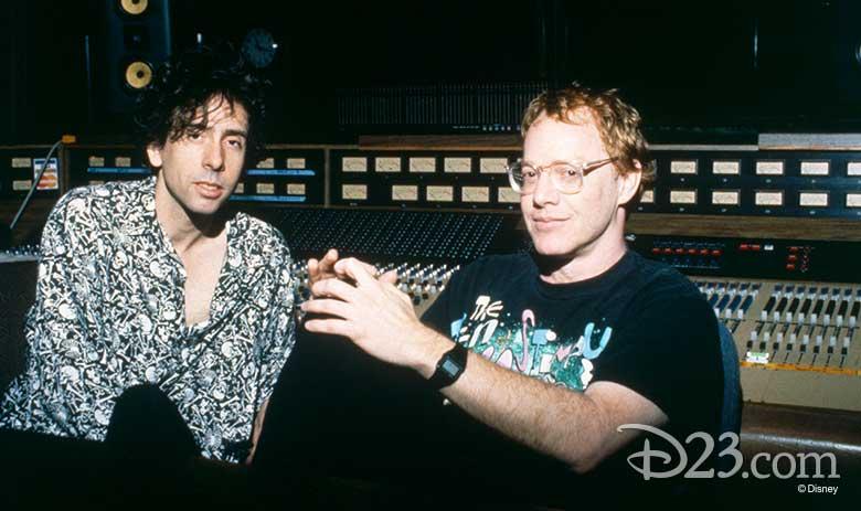 Tim Burton and Danny Elfman
