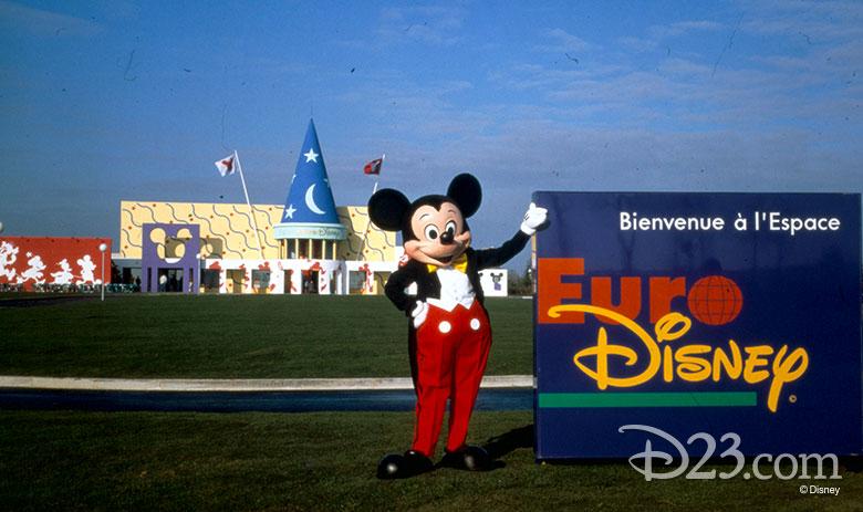 Mickey Euro Disney