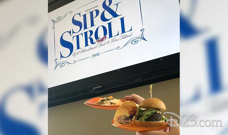 sip and stroll recap