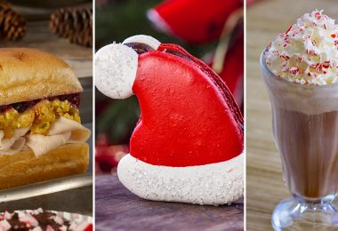 Disney Parks 2018 holiday foods