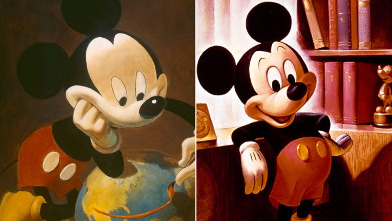Mickey Mouse portraits