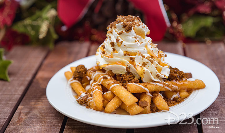Gingerbread Funnel Cake Fries