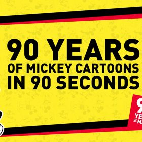 90 Years of Mickey in 90 Seconds