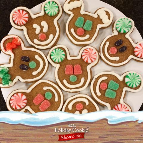 Michael's gingerbread Mickeys