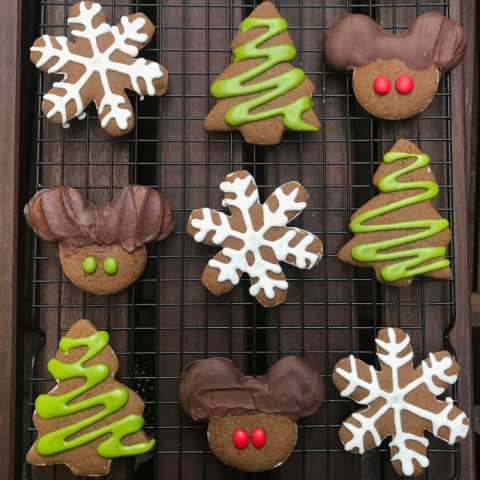 Chelsey S.'s Mickey Mouse gingerbread