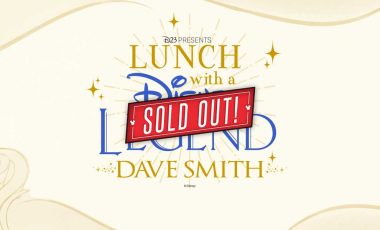 Lunch with a Disney Legend: Dave Smith