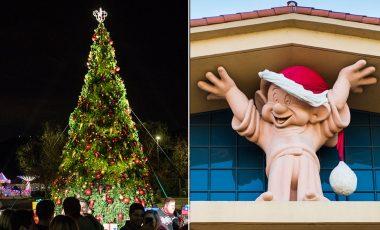 Watch The Walt Disney Studios Lot Transform into a Winter Wonderland