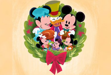 Download These Special Holiday Wallpapers Designed by Disney Artists Now