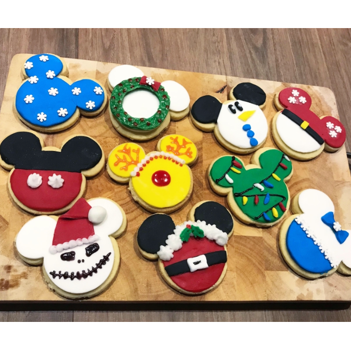 Daniel.Does.Disney's Mickey Christmas shortbread biscuits