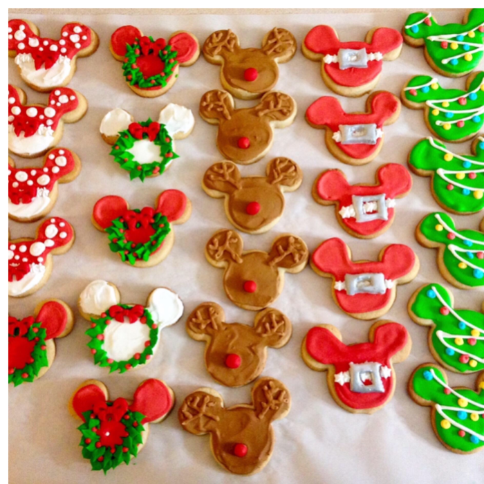 Meredith Sowell's Mickey cookies