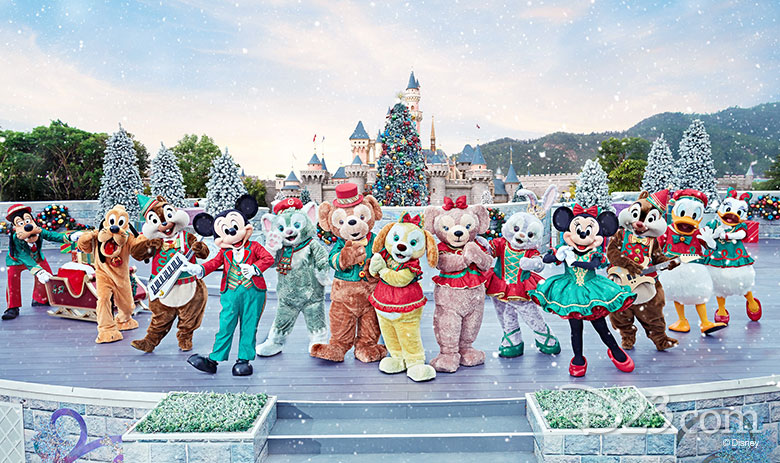 Mickey and Friends Wintertime Ball