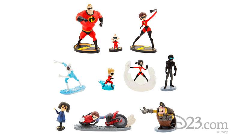 Incredibles 2 Deluxe Figure Set