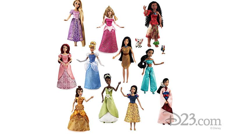 Disney Princess Doll Gift Set