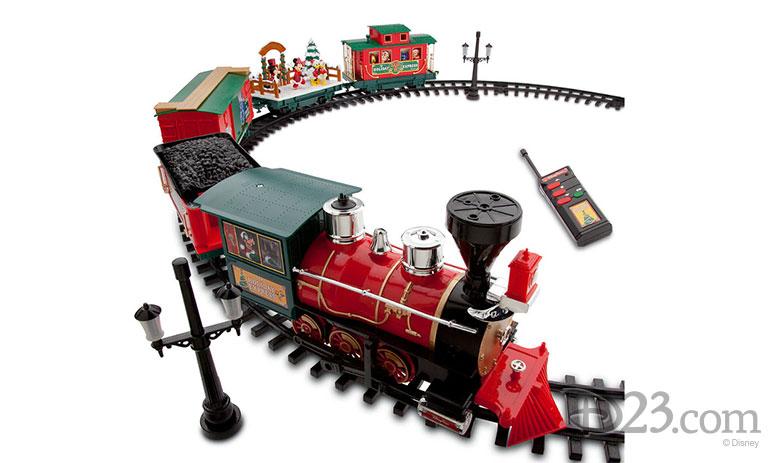 Disney Parks Holiday Train Set