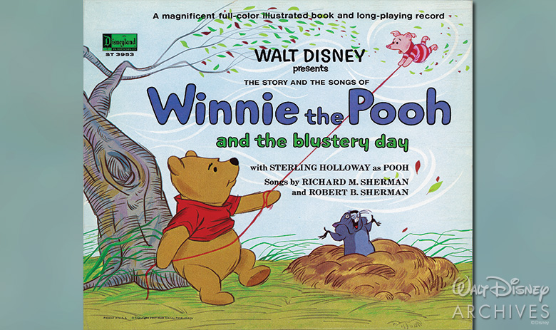 Winnie the Pooh and the Blustery Day sound track