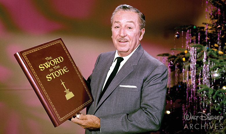 Walt Disney and The Sword in the Stone