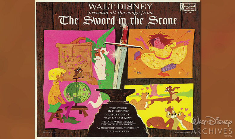The Sword in the Stone soundtrack