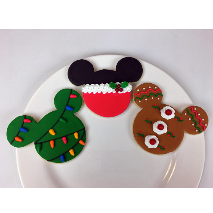 Gabrielle Versnick's Mickey Mouse sugar cookies