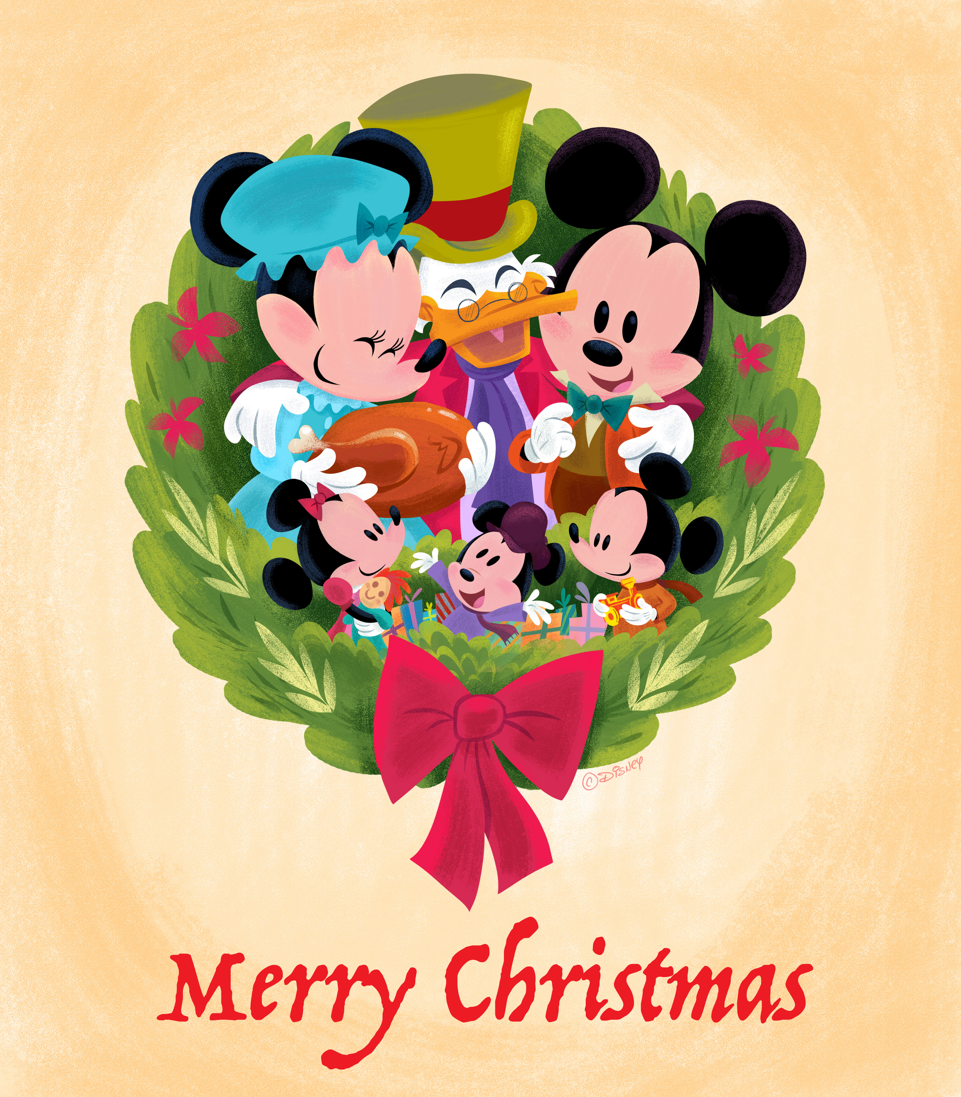 Disney Holiday Wallpapers D23