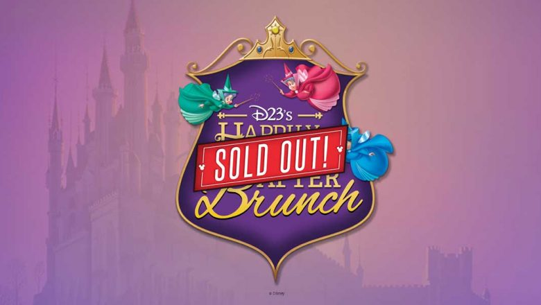 sleeping beauty brunch sold out