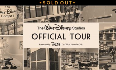 The Official Walt Disney Studios Tour – Presented by D23