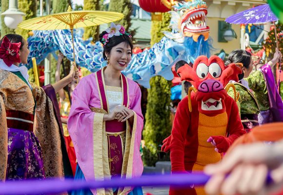 Disney California Adventure's Lunar New Year is Almost Here!