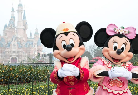 Shanghai Disney Resort Gets Ready for a Magical Chinese New Year Celebration