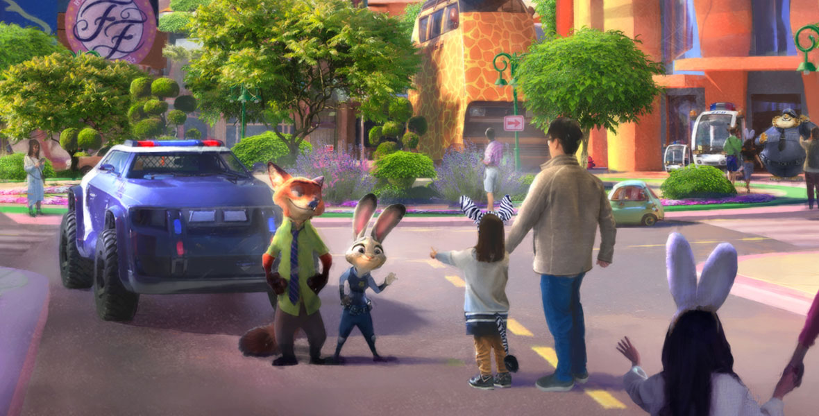 JUST ANNOUNCED: Zootopia-Themed Expansion Headed to Shanghai Disneyland