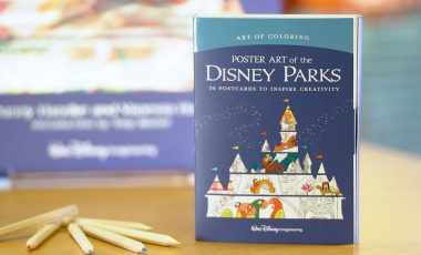Become a Disney Artist with the Art of Coloring: Poster Art of the Disney Parks Book