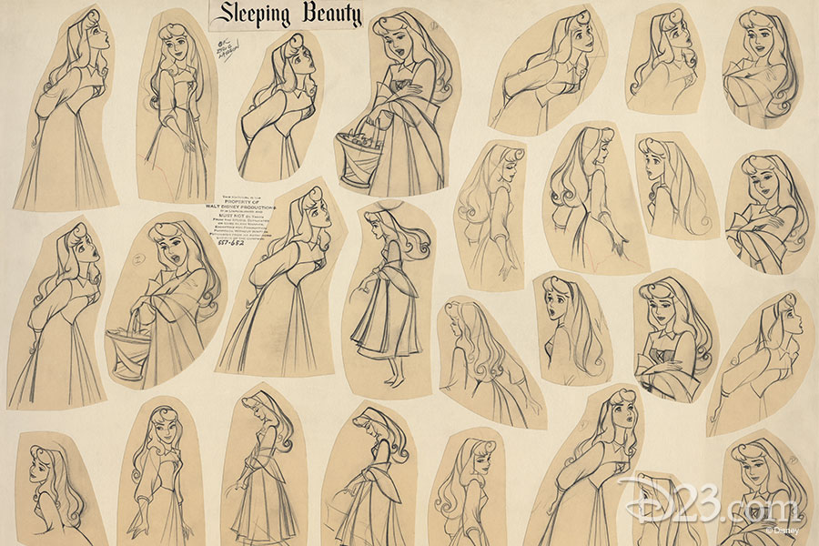 Sleeping Beauty concept art