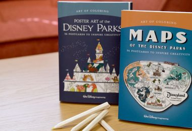 Add Your Own Splash of Color to Your Favorite Disney Map