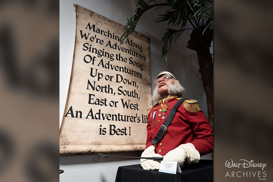 Walt Disney Archives Adventure Exhibit