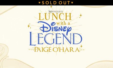 Lunch with a Disney Legend – Paige O'Hara