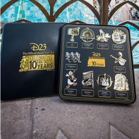 So Much Swag! Unboxing 10 Years of D23 Gold Member Gifts