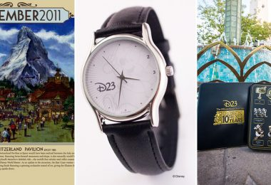 D23 Gold Member gifts