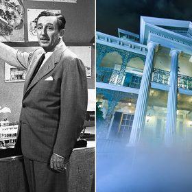 Walt Disney and Haunted Mansion
