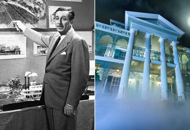 Walt Disney and Haunted Mansion